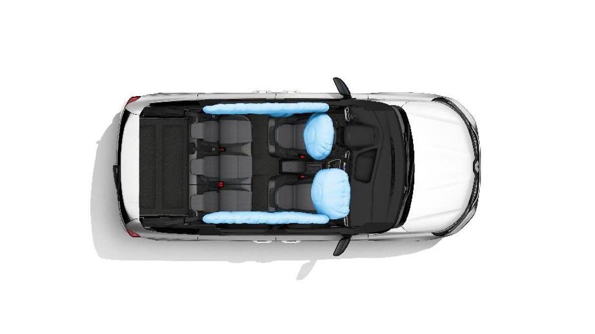 Airbag laterali «torace» conducente e passeggero