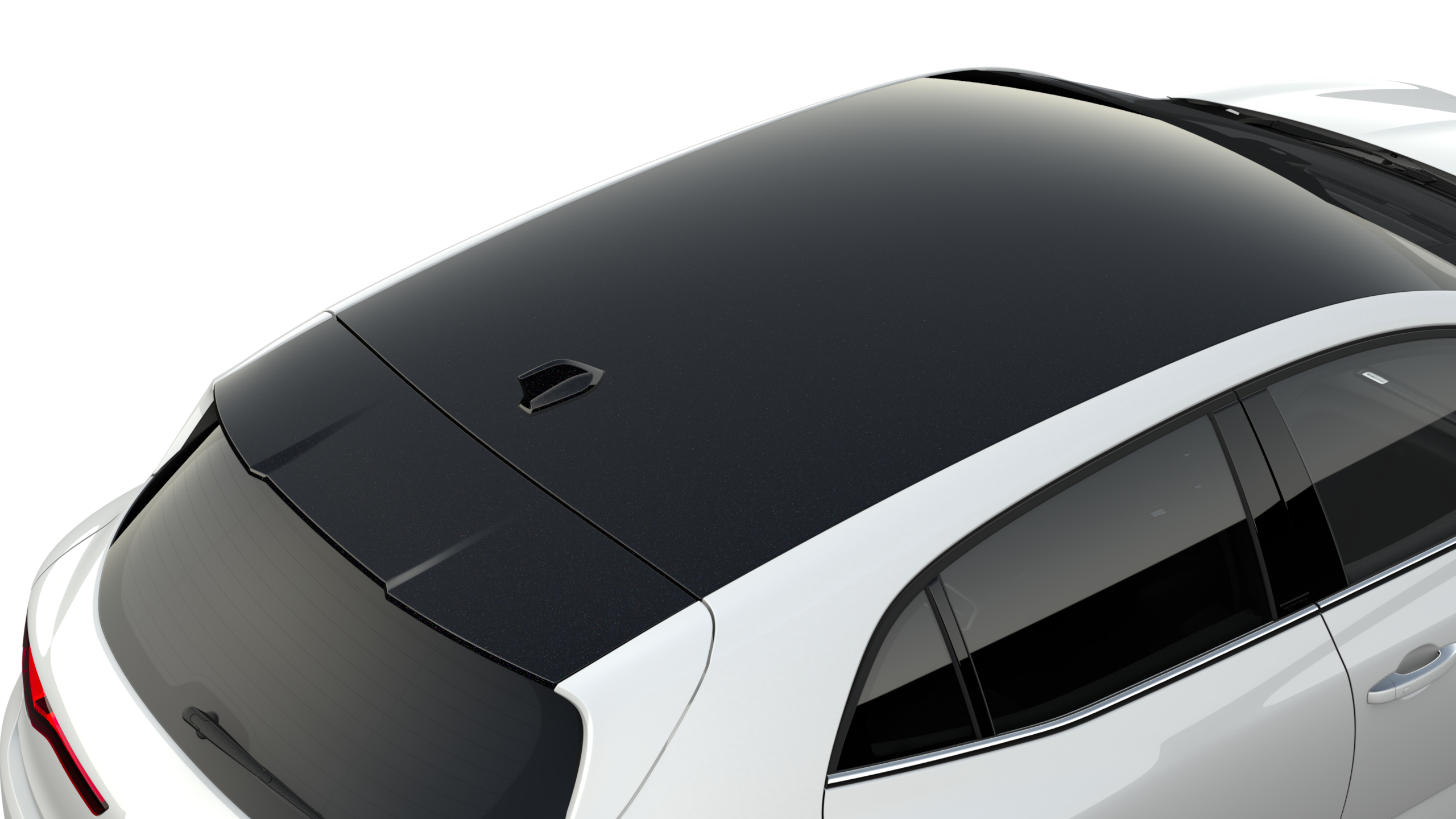 BLACK PACK: covering tetto + spoiler neri