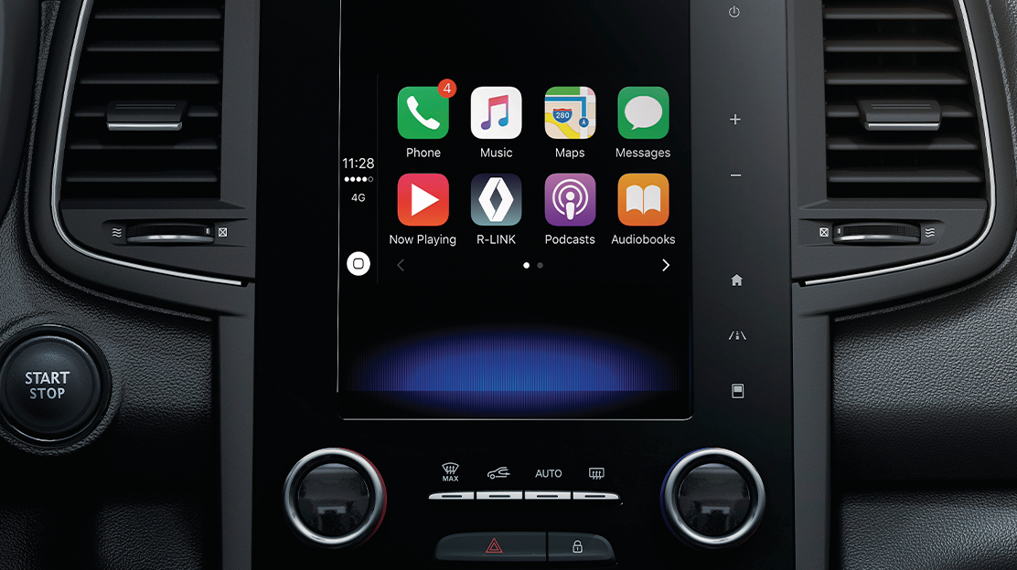 R-LINK 2 compatible avec Apple CarPlay et Android Auto™