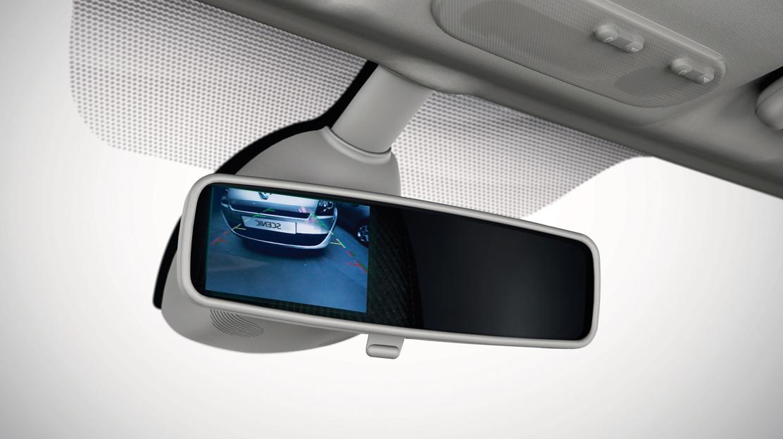 Cámara de visión trasera + Radar de proximidad trasero