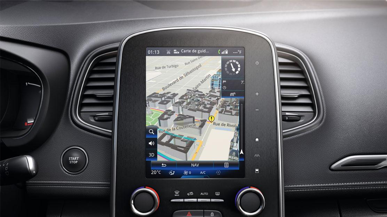 Renault R-Link 2 multimedia- en navigatiesysteem met 7