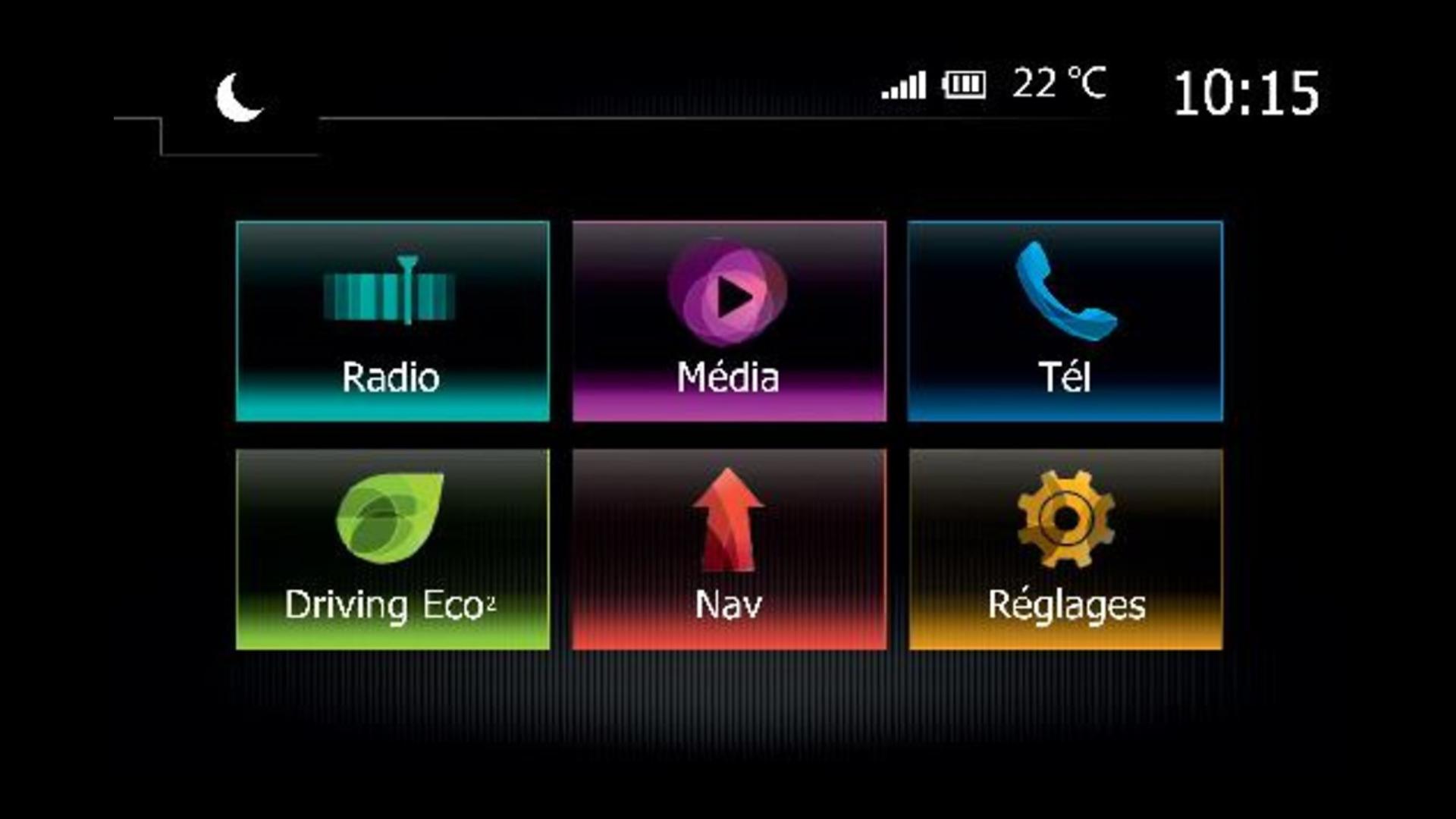 """MEDIA NAV EVOLUTION SpaceClass: 7"""" navigáció, MP3 és Bluetooth®, távirányító, telefontükrözés"""