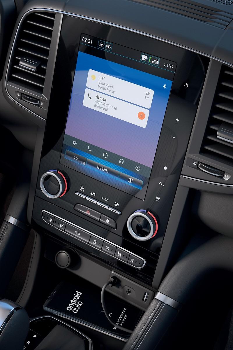 R-Link2, 8,7''сенс. диспл., навігація, Bluetooth, jack, 2USB, 8 динаміків, Arkamys Sound