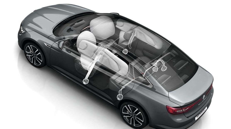 Предни фронтални и странични въздушни възглавници за водача и пътника до водача