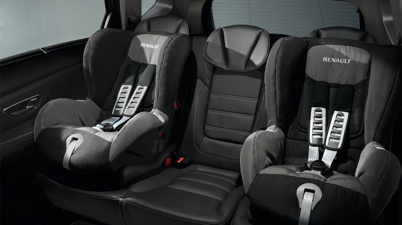 Isofix en asientos laterales traseros