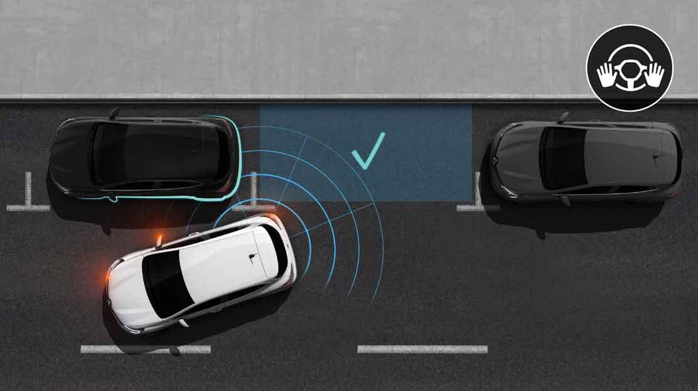 Sistema de ajuda ao estacionamento dianteiro e traseiro
