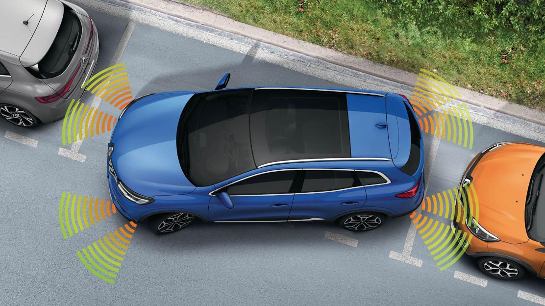 system wspomagania parkowania przód/tył/bok