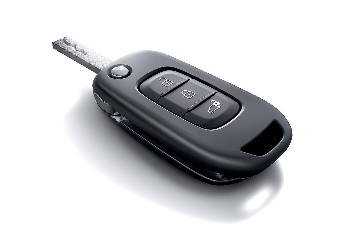 3-Knopf-Schlüssel mit Fernbedienung