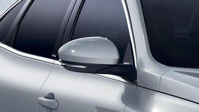 Elektrisch verstelbare, verwarmbare en inklapbare buitenspiegels met geïntegreerd knipperlicht