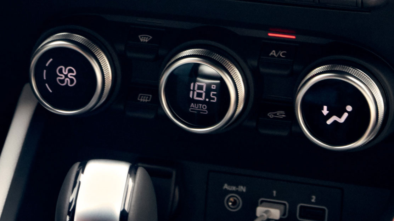 Elektronische Klimaautomatik