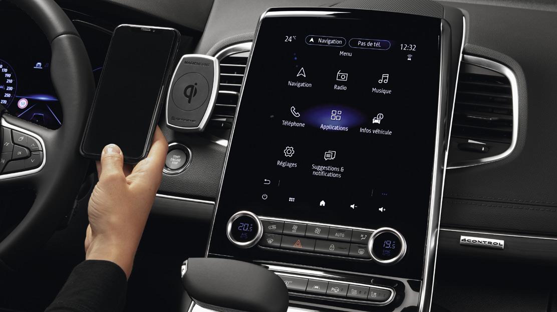 EASY LINK : Système multimédia connecté sur écran 9,3