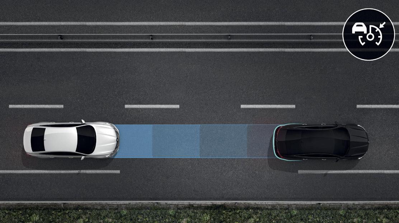Tempomat mit adaptiver Geschwindigkeitsregelung
