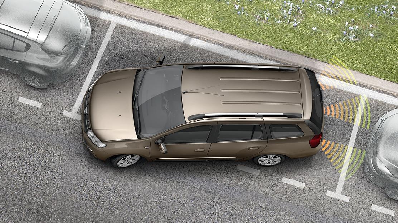 Rear proximity sensor