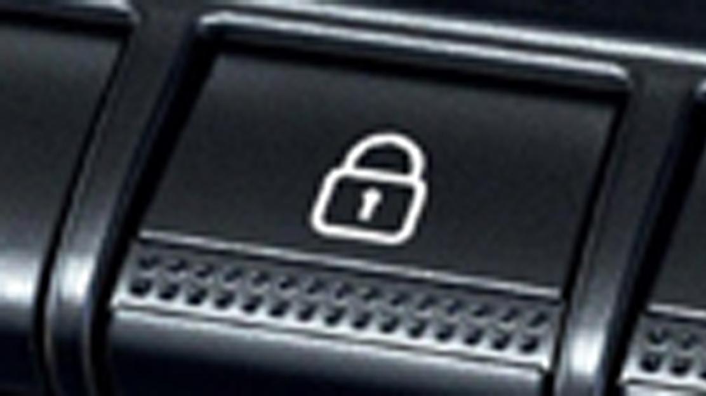 Condamnation centralisée des portes avec télécommande à radiofréquence