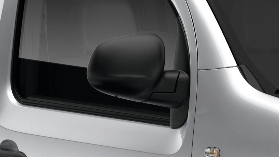 Electrically operated door mirrors
