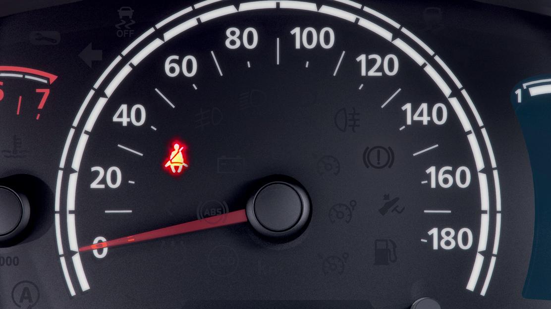 Alerta sonoro e visual do uso do cinto de segurança de motorista e passageiros