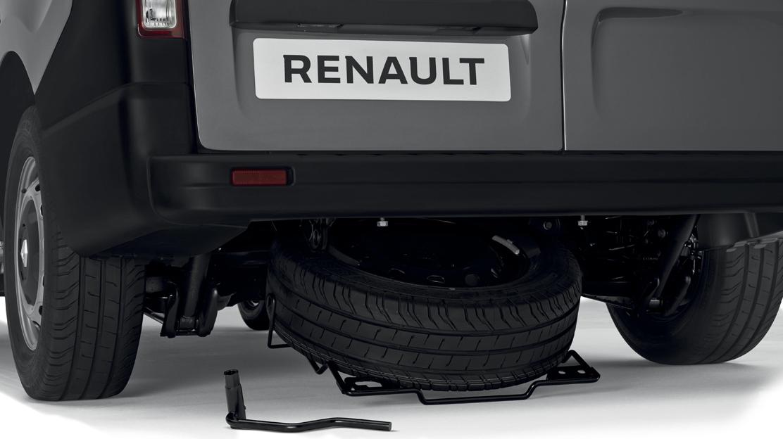 Anti-theft spare wheel holder
