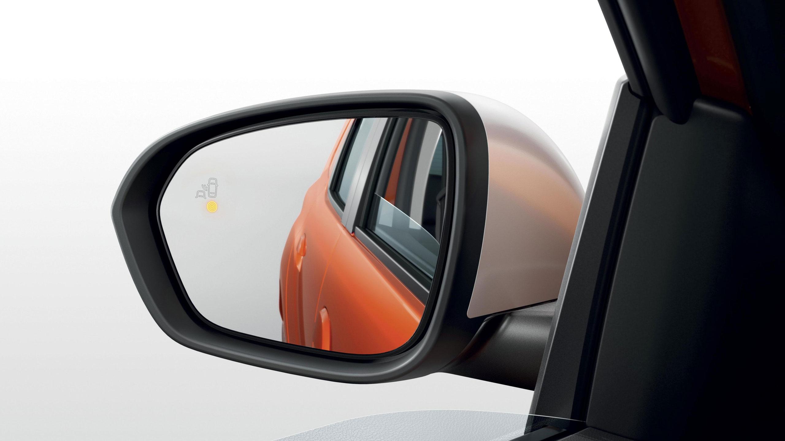 Elektromosan állítható, fűthető külső visszapillantó tükör