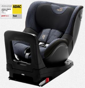 Scaun pentru copil - Dualfix - Vârstă 0-4 ani