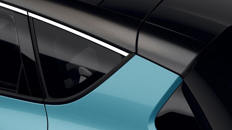 Peinture du toit dans une couleur différente de celle de la carrosserie