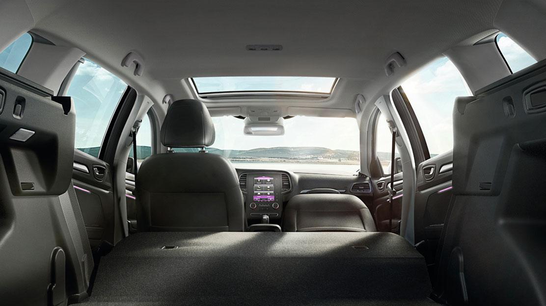 1/3-2/3 folding rear passenger seat