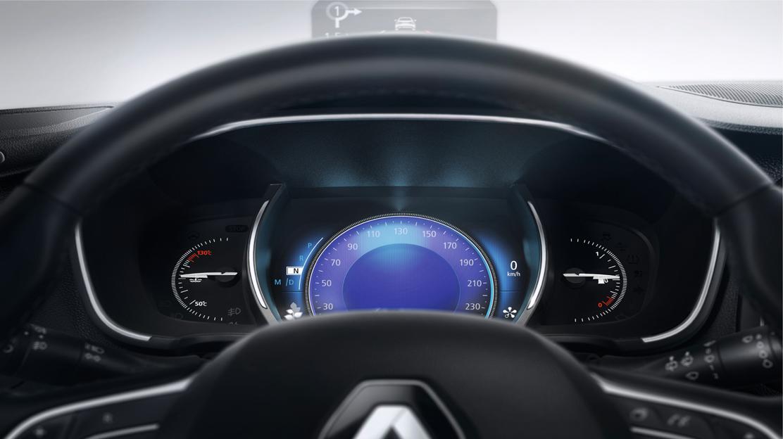 Display - digital speedometer (TFT screen)