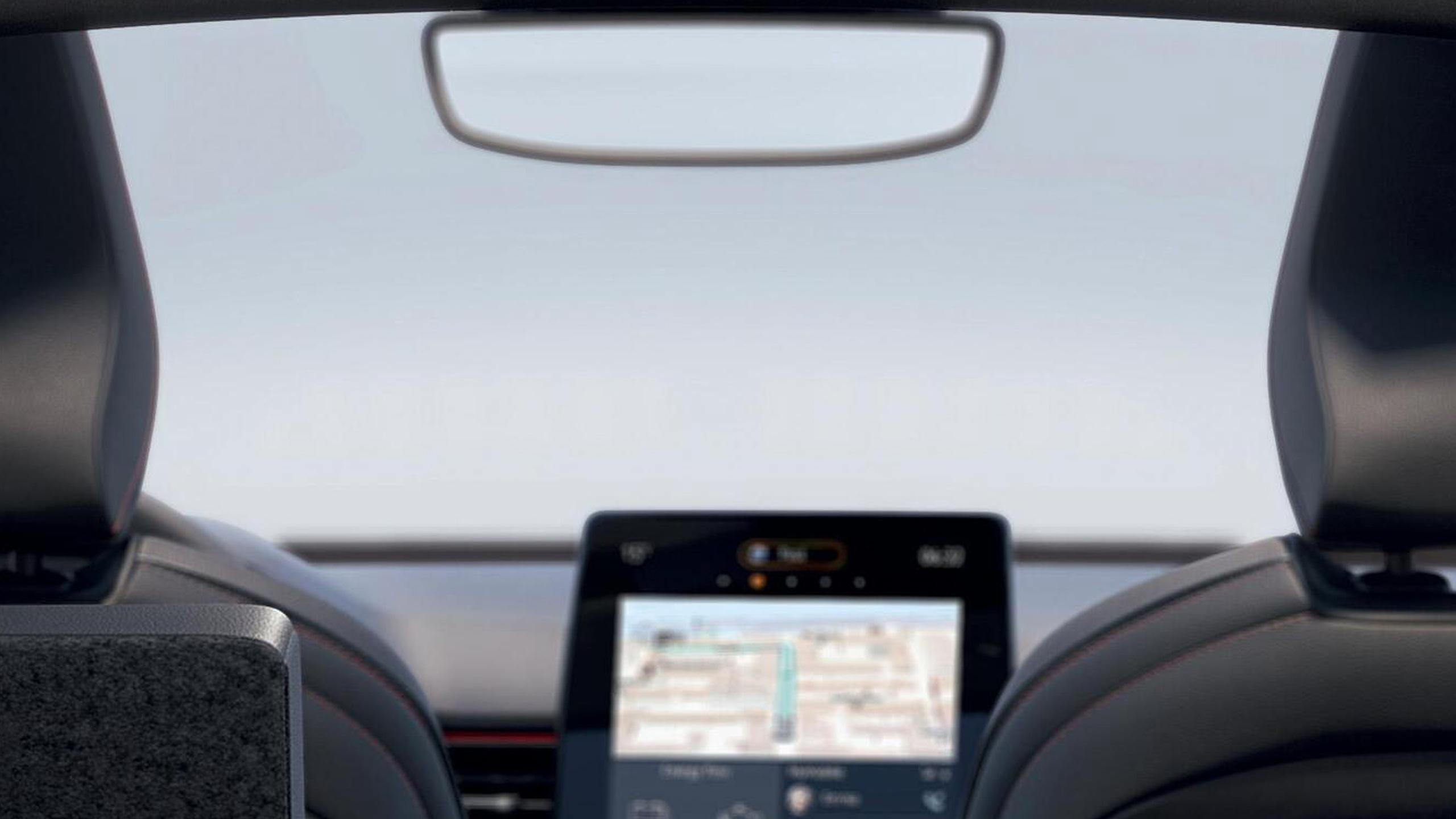 Auto dazzling Rear View Mirror