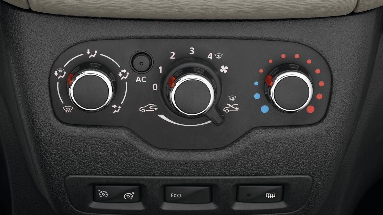 Ar condicionado manual