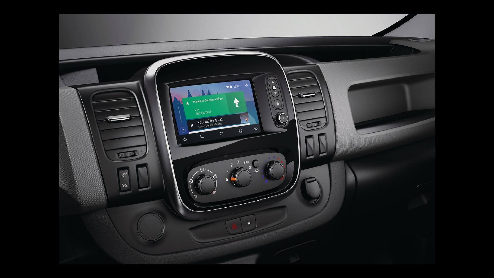 """7"""" érintőképernyős MP3 és Bluetooth® DAB rádió USB, Jack-csatlakozóval, beépített kijelzővel"""