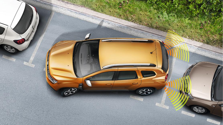 Zadní parkovací kamera, včetně zadních parkovacích senzorů