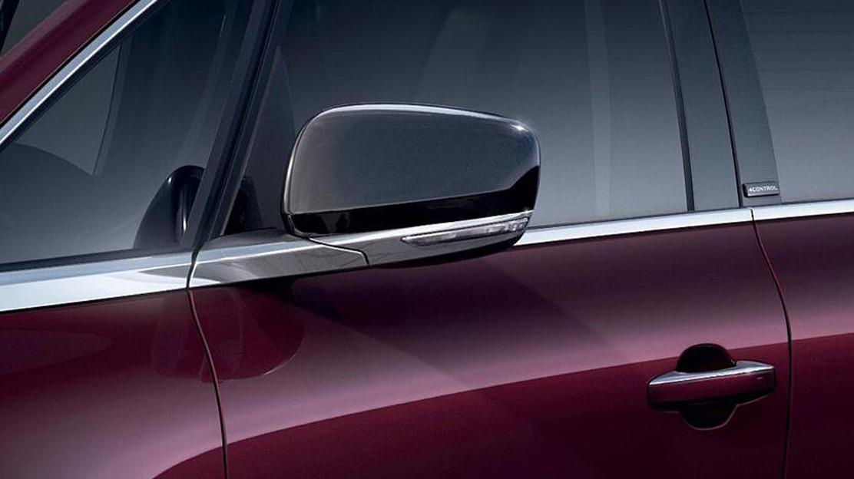 Außenspiegel elektrisch einstell-, anklapp- und beheizbar mit Memory-Funktion