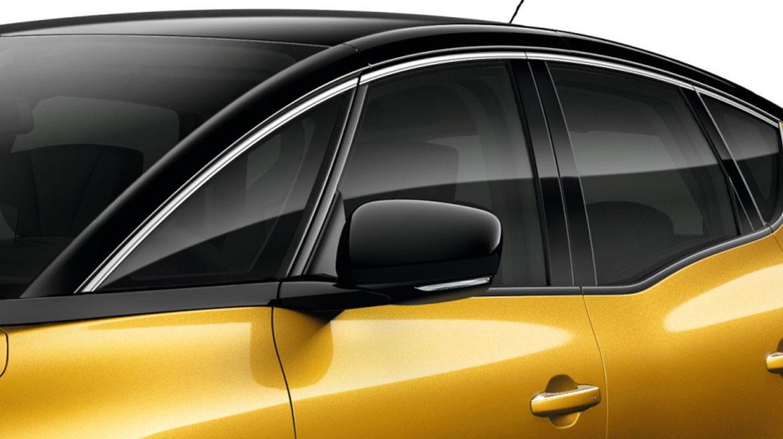 Außenspiegel elektrisch anklappbar und beheizbar  (mit Temperatursensor)