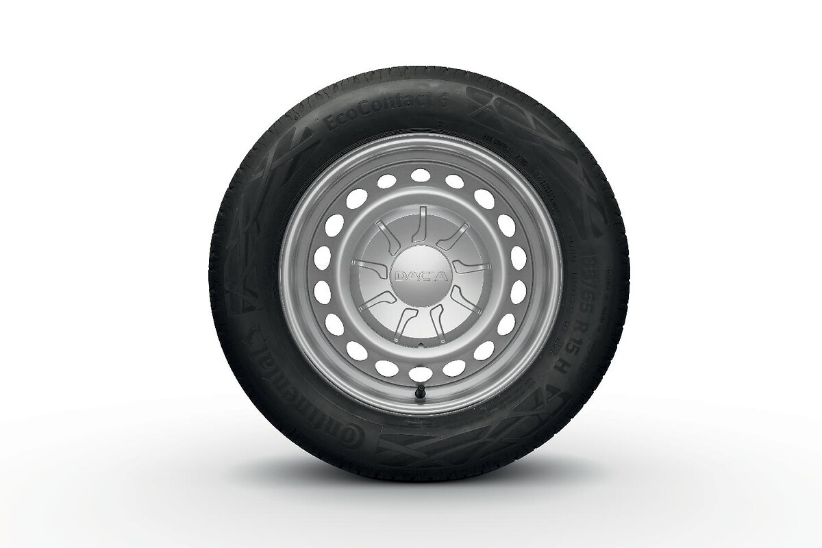 Rezervni kotač standardnih dimenzija (38 cm - 15