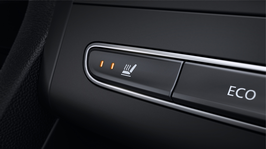 Heated front seats (only available with Alcantara upholstery)