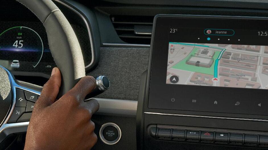 EASY LINK multimedia- en navigatiesysteem met 7