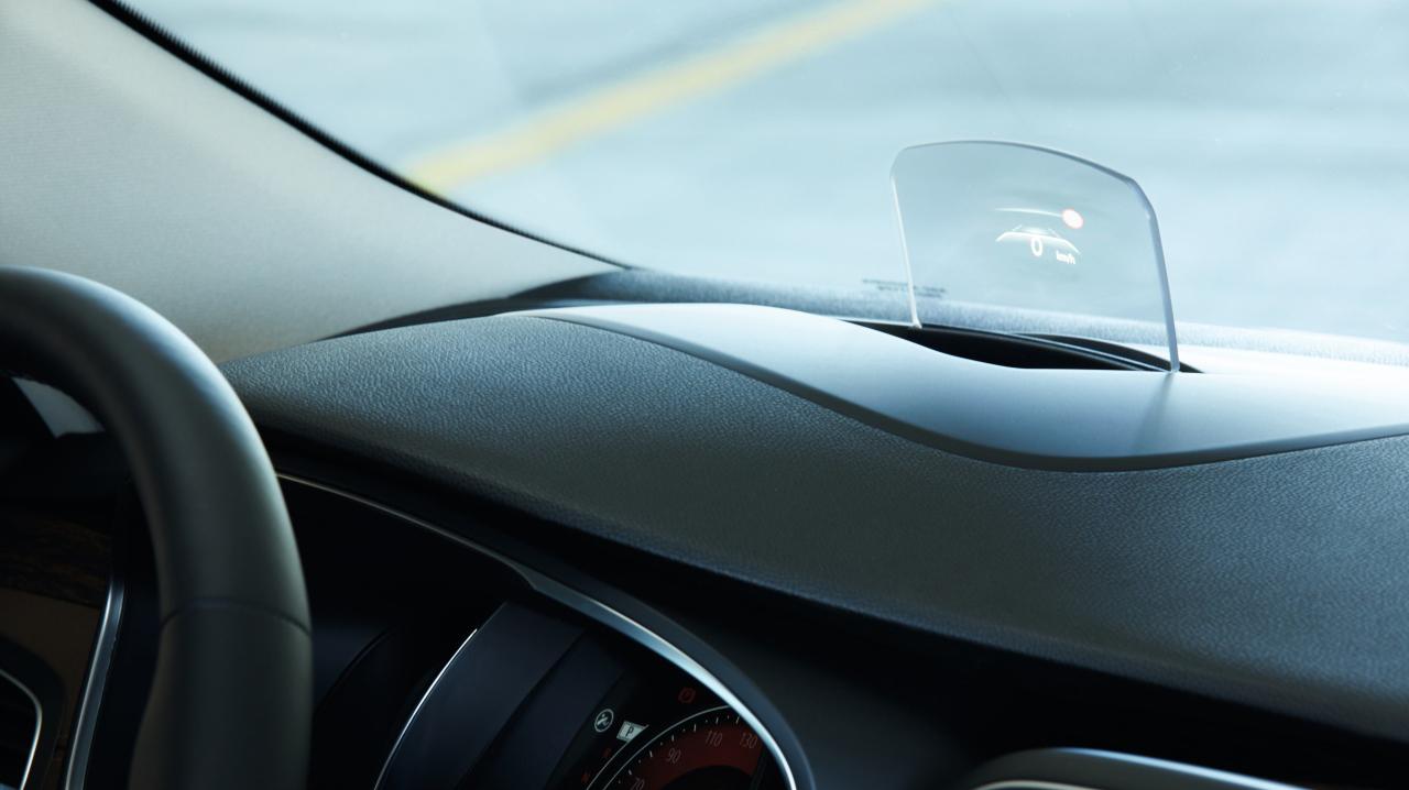 Head Up zaslon - podizni zaslon ispred vozača