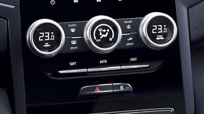 Elektronisch geregelde airconditioning met 2 zones