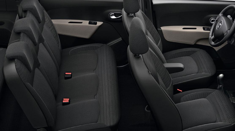 Trojbodové bezpečnostné pásy na zadných sedadlách