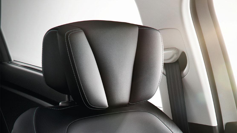 Komfortni naslonjali Relax za glavo voznika in sovoznika