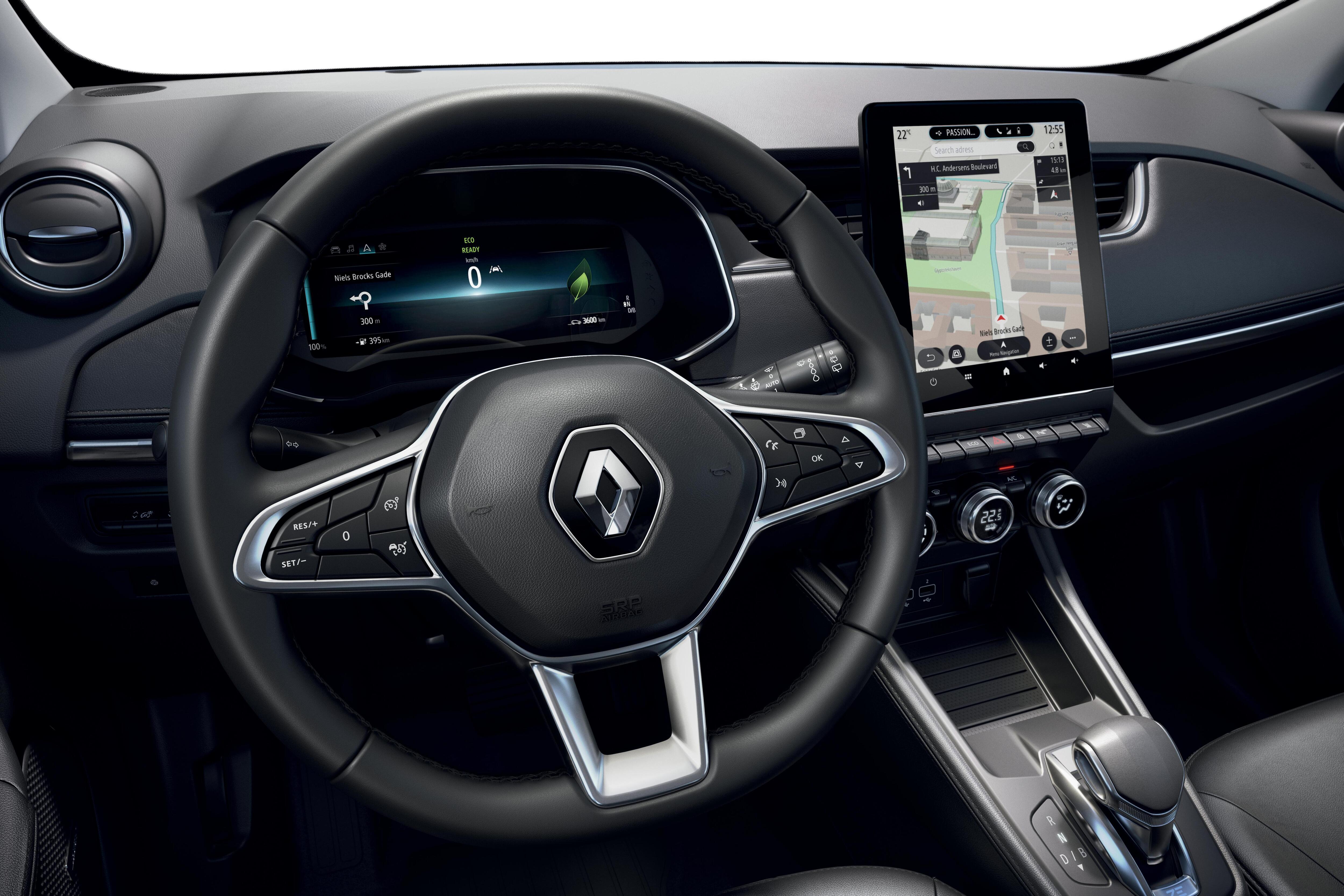 Multimediasystem EASY LINK mit 9.3-Zoll Touchscreen und navigation in Europa