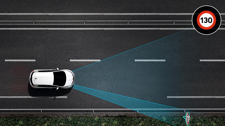 Alerta de excesso de velocidade c/reconhecimento dos sinais de trânsito
