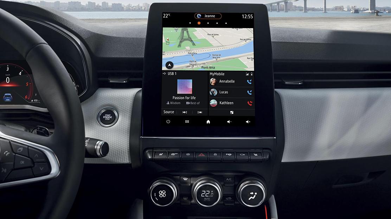 9.3-Zoll-Multimediasystem inkl. Navigation