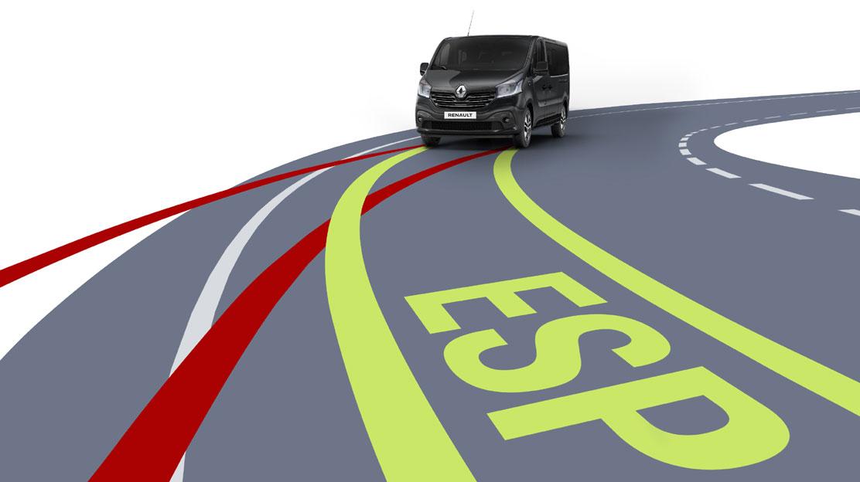 system kontroli toru jazdy ESC z Extended Grip i HSA