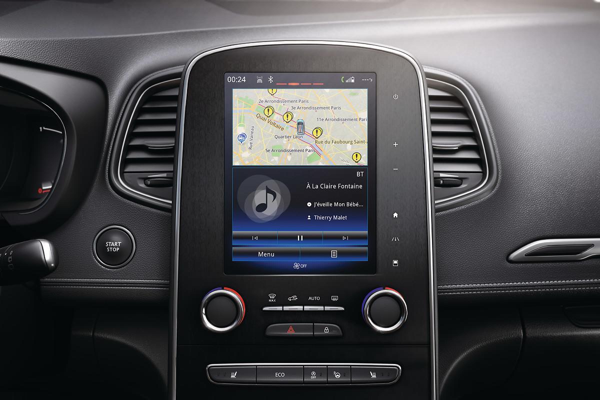 Radio multimédia DAB avec écran tactile 8,7''