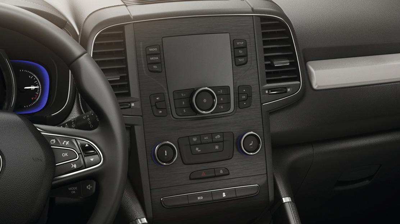 Renault R-Link2, sistem multimedia conectat cu ecran tactil de 7''