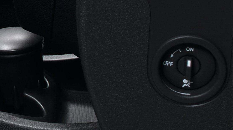 Airbag passageiro - implica Função de desconexão do Airbag