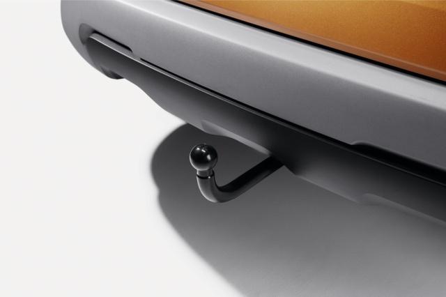 Поперечина S-образного фиксированного тягово-сцепного устройства