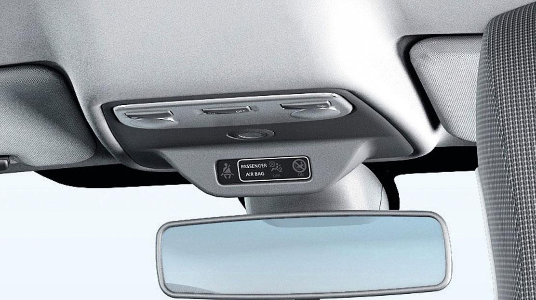 Allarme in caso di mancato allacciamento della cintura di sicurezza