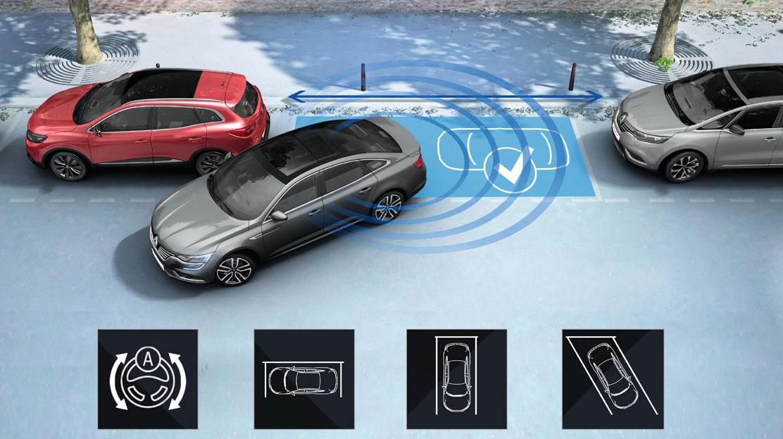 Zadní a přední parkovací senzory