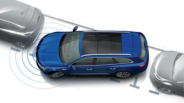 Ayuda al aparcamiento delantera y trasera